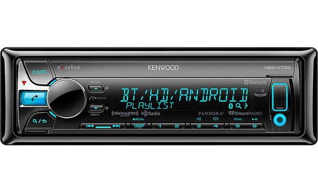 Kenwood Excelon KDC-X799 Kenwood Excelon receivers offer lots of music options and ways to fine tune your sound