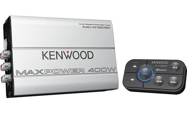 kenwood amp hook up