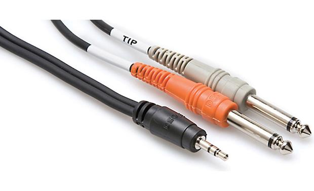 Hosa Stereo Mini Breakout Cable Front