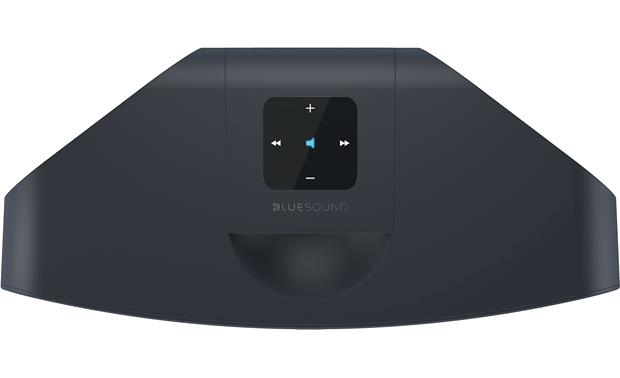 Bluesound Pulse Mini Black - top-mounted control buttons