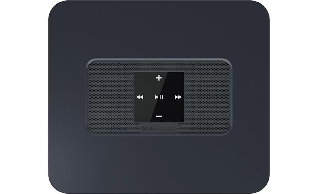Bluesound Vault 2 Black - top-mou nted control buttons