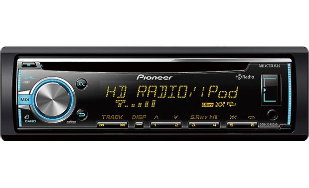 Pioneer DEH-X5800HD The DEH-X5800HD has a built-in HD Radio tuner