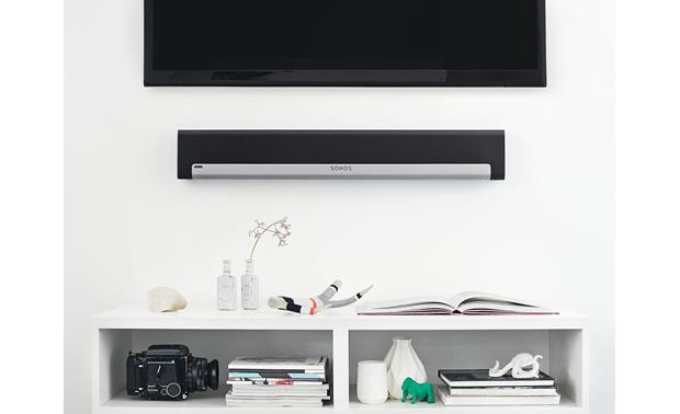 Sonos Playbar 5.1 Home Theater System with Voice Control Black - Playbar is wall-mountable