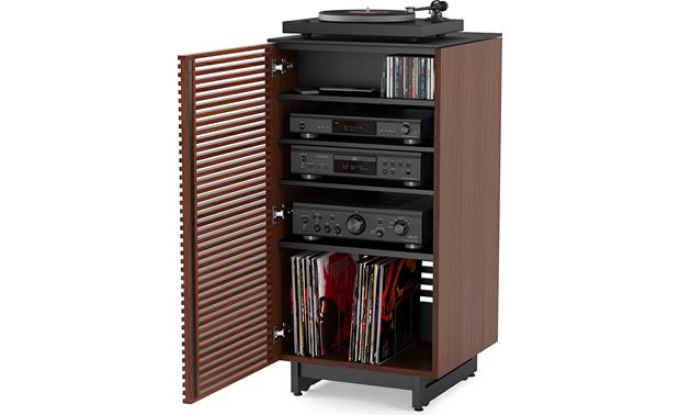 BDI Corridor 8172 Chocolate Stained Walnut (components and media not included)