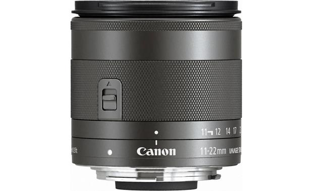 Canon EF-M 11-22mm f/4-5.6 STM Side