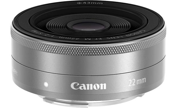 Canon EF-M 22mm F/2.0 STM Front
