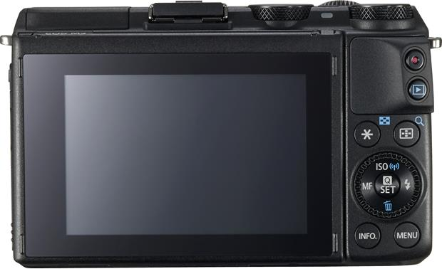 Canon EOS M3 (no lens included) Back