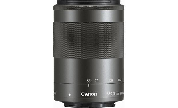 Canon EF-M 55-200mm f/4.5-6.3 IS STM Side (Black)