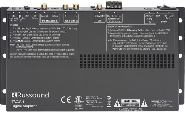 Russound TVA2.1 Factory Refurbished