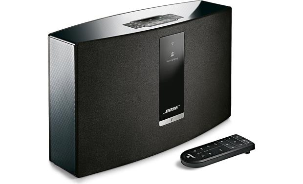 Bose® SoundTouch® 20 Series III wireless speaker Black - left front
