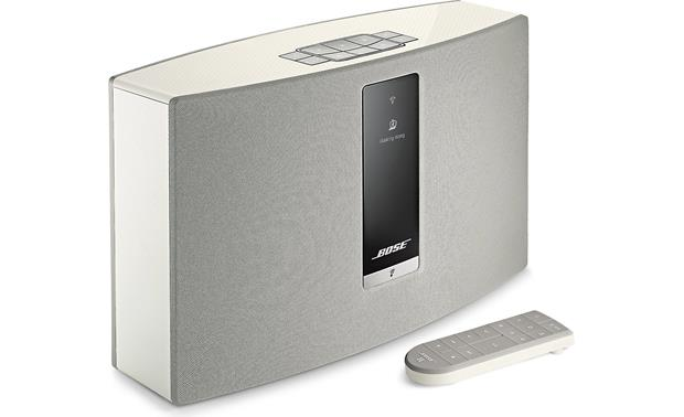 Bose® SoundTouch® 20 Series III wireless speaker White - left front