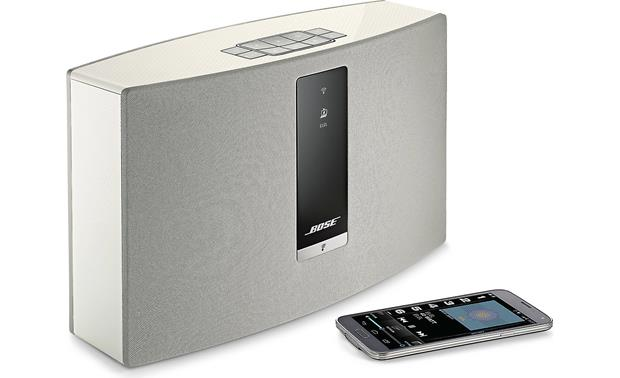 Bose® SoundTouch® 20 Series III wireless speaker White - control via Wi-Fi (smartphone not included)