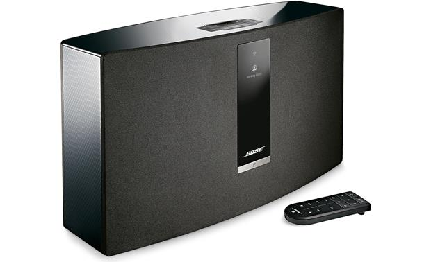 Bose® SoundTouch® 30 Series III wireless speaker Black - left front