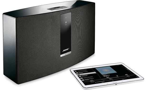 Bose® SoundTouch® 30 Series III wireless speaker Black - stream via Wi-Fi (tablet not included)