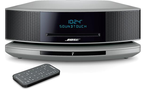 Bose® Wave® SoundTouch® wireless music system IV Platinum Silver - front