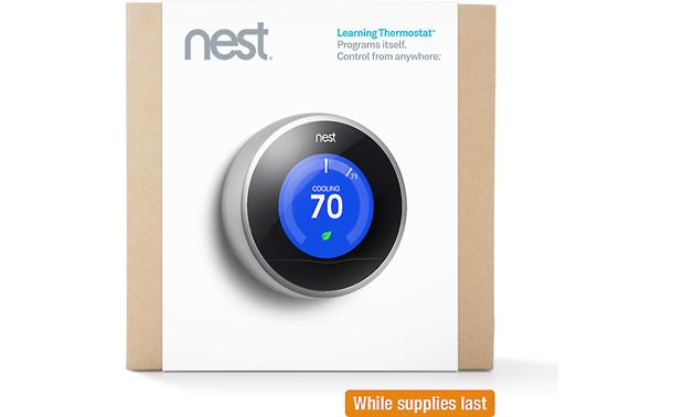 Nest Learning Thermostat, 2nd Generation Front
