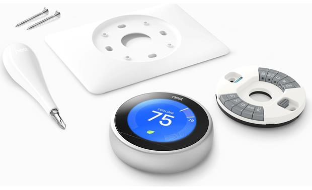 Nest Learning Thermostat, 3rd Generation Installation gear included
