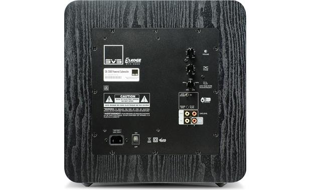 SVS SB-2000 Back (Black Ash)