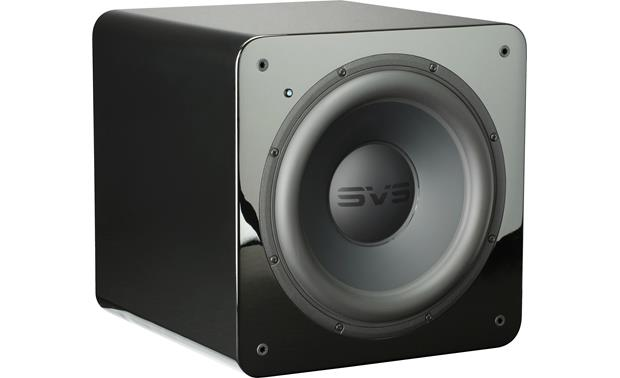 SVS SB-2000 Angled front view with grille removed