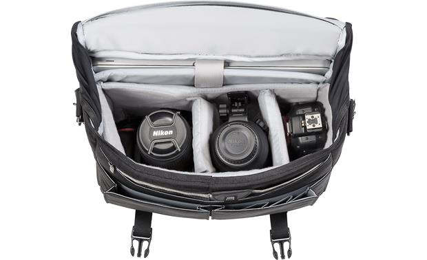 Nikon Courier Bag Removable internal dividers keep gear organized (gear not included)