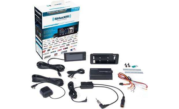 SiriusXM Commander Touch complete kit