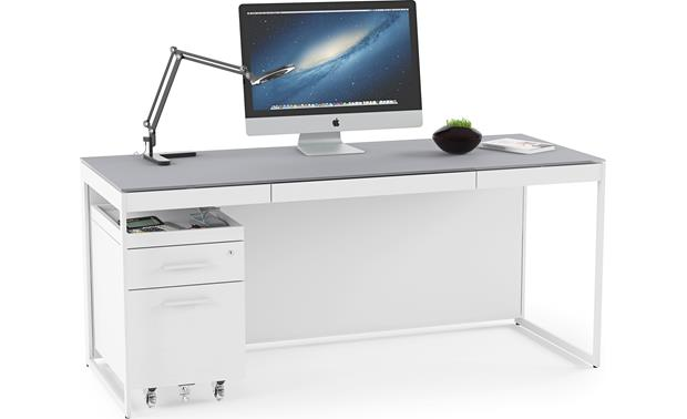 BDI Centro 6407 Shown with optional BDI 6401 desk (computer and office supplies not included)