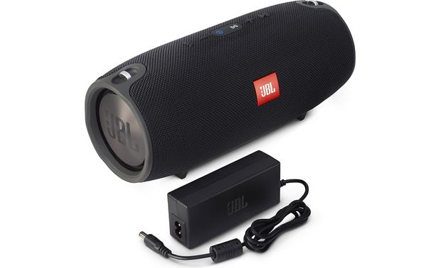 JBL Xtreme Black - with included AC power adapter