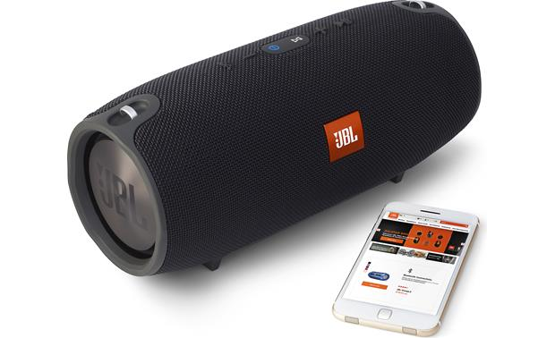 JBL Xtreme Black - with control app (smartphone not included)