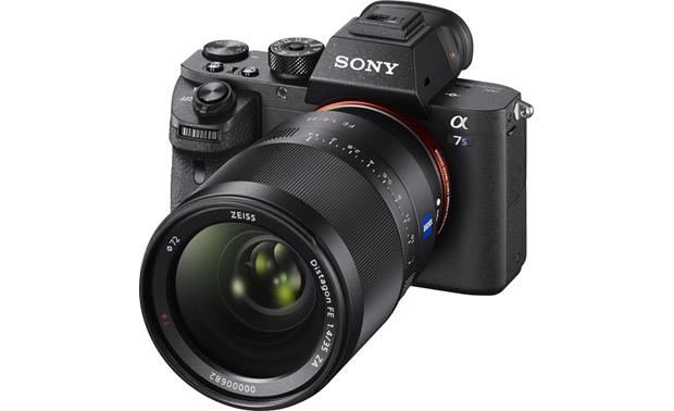 Sony Alpha a7S II (no lens included) With lens attached (not included)