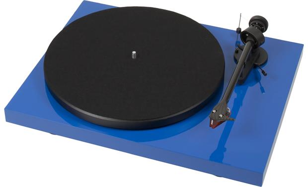 Pro-Ject Debut Carbon (DC) Gloss Blue (dust cover included, not shown)