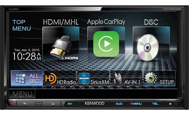 Kenwood Excelon DDX9902S Integrate your Android and iPhone using touchscreen controls