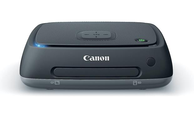 Canon Connect Station CS100 Insert memory cards for transfer, or use one-touch NFC pairing