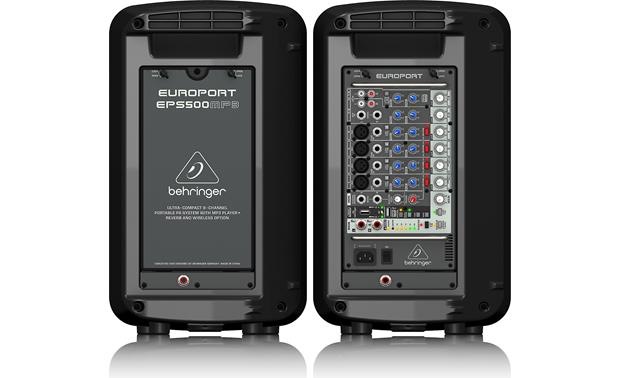 Behringer EPS500MP3 Back