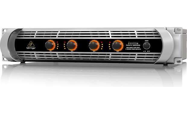 Behringer NU4-6000 iNUKE amps deliver big power without the big weight