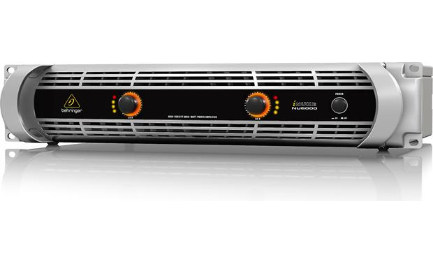 Behringer NU6000 iNUKE amps deliver big power without the big weight