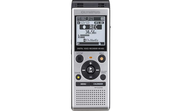 olympus ws 852 4gb digital voice recorder with expandable memory at rh crutchfield com digital voice recorder ws-110 manual olympus digital voice recorder ws-110 instructions
