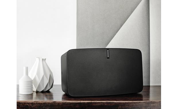 Sonos Play:5 In a family room