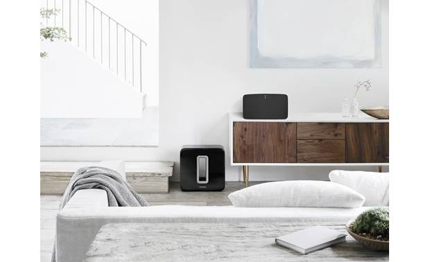 Sonos Play:5 (2-pack) Black - wirelessly connect to a Sonos Sub (available separately)