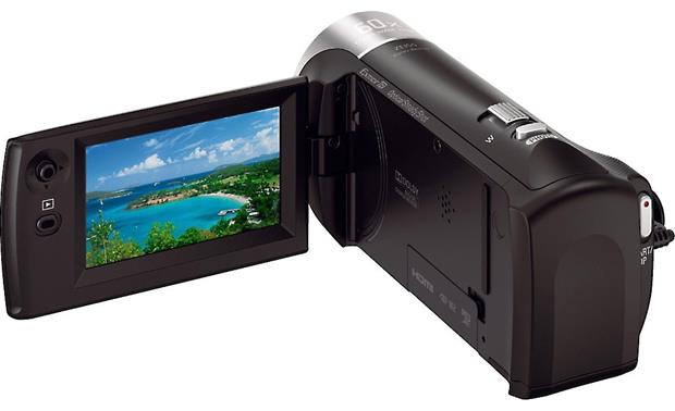 Sony Handycam® HDR-CX405 Back