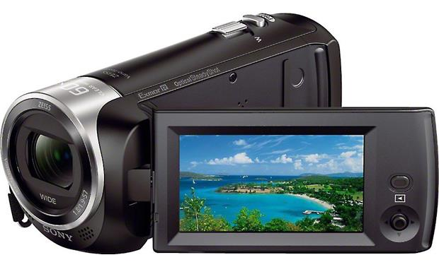 Sony Handycam® HDR-CX405 Front