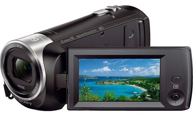 Sony Handycam® HDR-CX440 Front