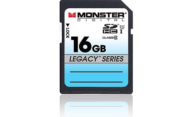 Monster SDHC Memory Card Front