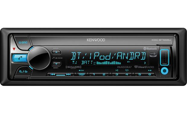 Kenwood KDC-BT565U CD receiver at Crutchfield.com