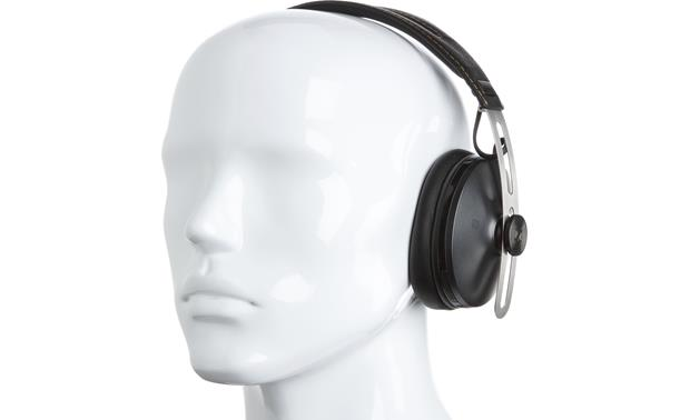 Sennheiser Momentum Over-ear Wireless Mannequin shown for fit and scale