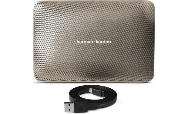 Harman Kardon Esquire 2 Gold - with included charging cable