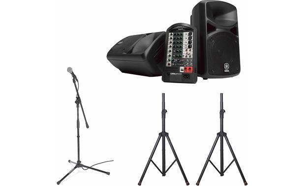 Yamaha STAGEPAS Bundle Front