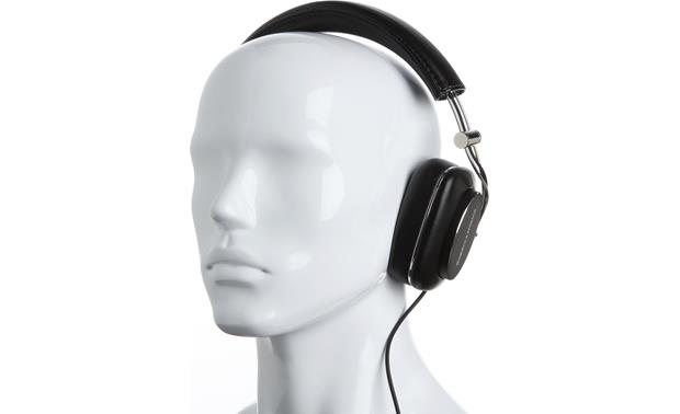 Bowers & Wilkins P7 Mannequin shown for fit and scale