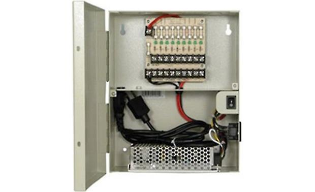 ClearView 12VPDB-10A-9 9-way 10-amp Power Distribution Box Front