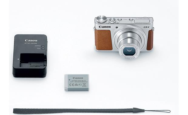 Canon PowerShot G9 X Shown with included accessories