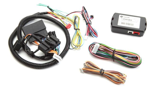 fortin evo for t1 digital remote start system for select 2008 up rh crutchfield com T1 Wiring Pinout T1 Wiring Standard